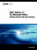 SAS Add-In 4.2 for Microsoft Office