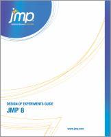 JMP Release 8 Design of Experiments