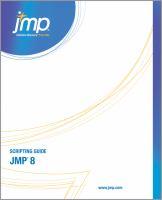 JMP Release 8 Scripting Guide