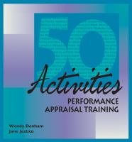 50 Activities for Performance Appraisal Training