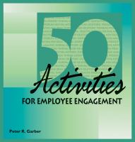 50 Activities for Employee Engagement