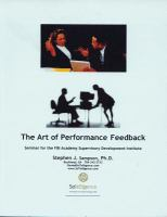 The Art of Performance Feedback