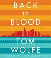 Back to blood a novel
