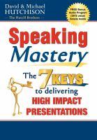 Speaking Mastery