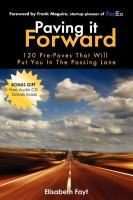 Paving It Forward