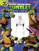How to Draw Nickelodeon Teenage Mutant Ninja Turtles