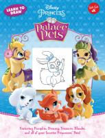 Learn to Draw Disney Princess Palace Pets