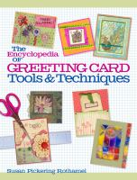 Encyclopedia of Greeting Cards Tools & Techniques