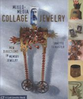 Mixed-media Collage Jewelry