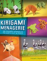 Kirigami Menagerie