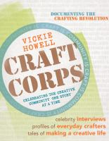 Craft corps : celebrating the creative community one story at a time