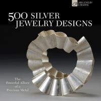 500 Silver Jewelry Designs book cover