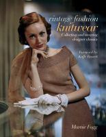Vintage Fashion Knitwear