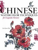 Chinese Watercolor Techniques for Exquisite Flowers