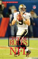2010 Official Playing Rules of the National Football League