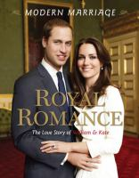 Royal Romance, Modern Marriage