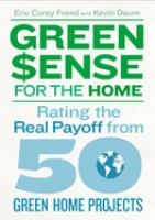 Green $ense for the Home