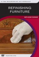 Refinishing Furniture With Bob Flexner