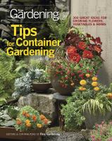 Image: Tips for Container Gardening