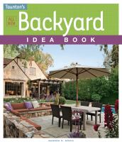 All New Backyard Idea Book