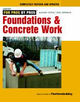 Foundations & Concrete Work