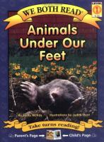 We Both Read: Animals Under Our Feet