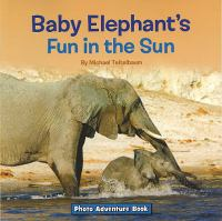 Baby Elephant's Fun in the Sun