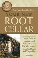 Image: The Complete Guide to your New Root Cellar