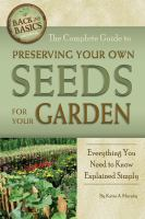 Image: The Complete Guide to Preserving your Own Seeds for your Garden
