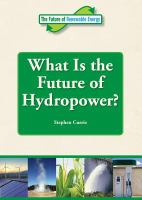 What Is the Future of Hydropower