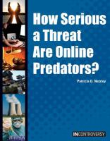 How Serious A Threat Are Online Predators?
