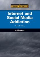 Internet and Social Media Addiction