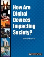 How Are Digital Devices Impacting Society?