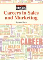 Careers in Sales and Marketing