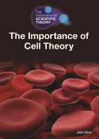 The Importance of Cell Theory