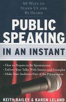 Public Speaking in An Instant