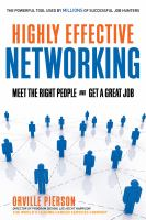Highly Effective Networking