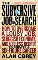 The Subversive Job Search