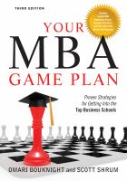 Your MBA Game Plan