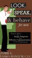 Look, Speak, & Behave For Men