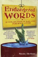 Endangered Words