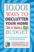 10,001 Ways to Declutter your Home on A Small Budget