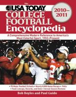 The USA Today College Football Encyclopedia 2010-2011