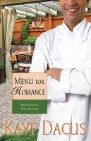 Menu for Romance