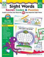 Sight Words Secret Codes & Puzzles