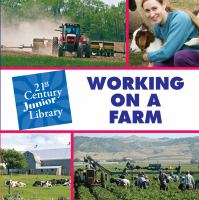 Working on A Farm