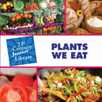 Plants We Eat