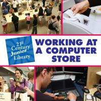 Working at A Computer Store
