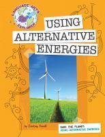 Using Alternative Energies