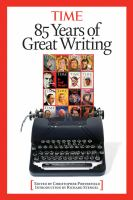 85 Years of Great Writing in Time, 1923-2008
